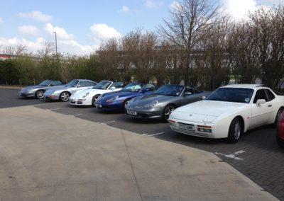 Porsche Club Visit